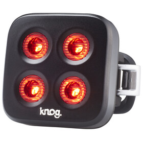 Knog Blinder MOB The Face Sicherheitslampe rote LED black